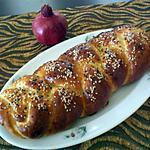 Brioche tressee legere (sans beurre)