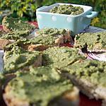 recette Tapenade méridionale aux olives vertes et basilic