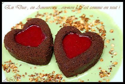 Duo coeur mousseux (3)