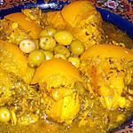 recette tajine poulet aux olives(pour ma soeur aussi...)