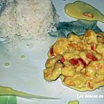 recette Crevettes au lait de coco