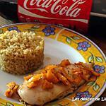 recette Emincé de poulet au cola