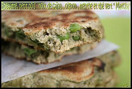 Pancakes antioxydant au thé vert matcha (1)