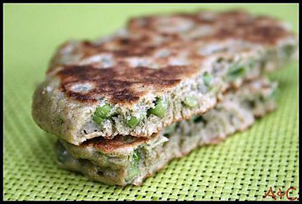 Pancakes antioxydant au thé vert matcha (2)