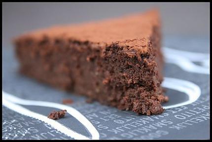 recette de etonnant g teau fondant au chocolat pic. Black Bedroom Furniture Sets. Home Design Ideas