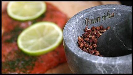 Saumon mariné ou gravlax (1)