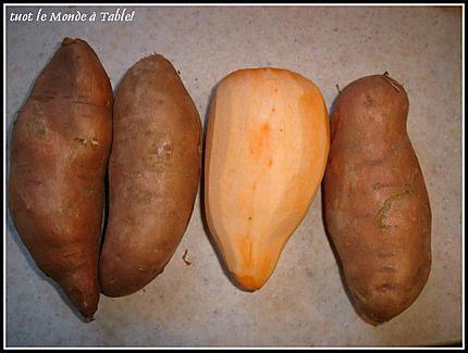 Recette de filet de canard sauce aux baies roses et sa pur e de patate douce - Quand recolter les patates douces ...