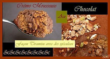 crème  mousseuse au chocolat façon Tiramisù (6)