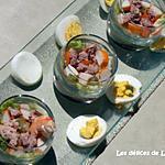 recette Salade fraîcheur au verre