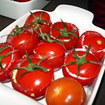 recette Tomates cocktail farcies