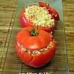 recette Tomates farcies au thon