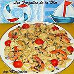 recette Les Farfalles de la Mer