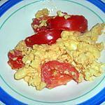 recette Tomates sautées aux oeufs