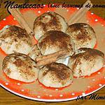 recette Les Mantecaos (avec beaucoup de cannelle!) : super facile, super rapide et super bon !