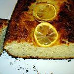 recette Gâteau au yaourt,citron et graines de pavot