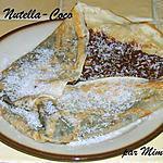 recette Crêpe Nutella - Coco