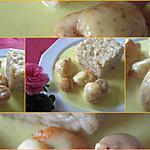 recette Risotto et  ses noix de Saint Jacques à la sauce au curcuma