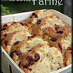 recette Cake aux cranberries