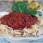recette Étonnante sauce à spaghetti