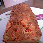 recette Cake Poivrons Lardons Cumin