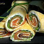recette Wraps au saumon // Wraps au jambon
