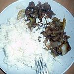 recette Boeuf aux oignons