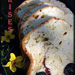 recette Cake aux cerises confites