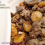 recette TAJINE D'AGNEAU AUX ABRICOTS