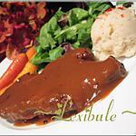 recette Longe de porc mariné au miel, soya et vinaigre balsamique