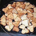 recette petit coeur de noel aux fruits secs