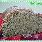 recette Pain à la farine de lentille verte et à l'anis