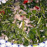 recette Salade cresson aux sardines