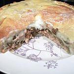 recette Tourte poulet et champignons (régime dukan)