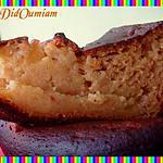 recette Gâteau vanillé Pomme banane