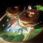 recette Sablé *bonhomme de neige* à la créme de marron