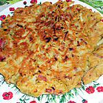 recette Galette de chou aux lardons et ses pickles de gingembre
