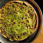 recette Quiche crémeuse mascarpone-pistaches