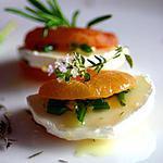 recette Amuse-bouches chèvre-abricot