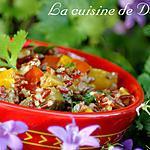 recette Riz camarguais et ses petits légumes