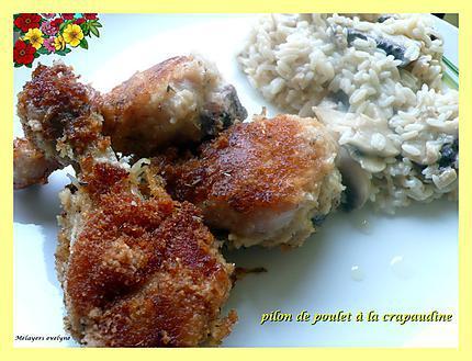 Recette de pilon de poulet la crapaudine - Pilon de poulet a la poele ...