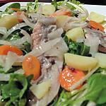 recette Salade de pommes de terre au hareng fumé  !