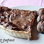 recette Tarte banane & noix