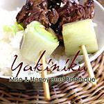 recette Yakiniku Brochetttes Japonaises Boeuf