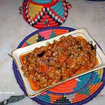 recette tchatchouka aubergine
