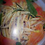 recette Strozzapreti au saumon fumé