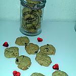 recette Cookies beurre de cacahuète raisin sec noix de coco