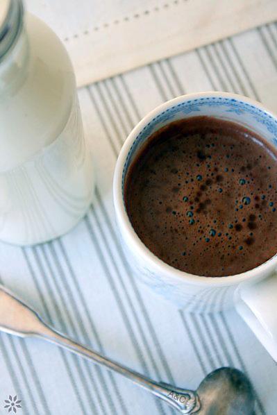 Vrai chcocolat chaud, Fingers sablés au café 2