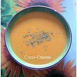 recette Soupe crémeuse aux carottes et noix de cajou