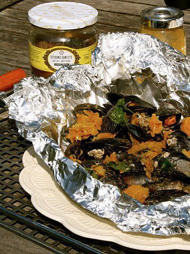 Papillote de Moule au barbecue traditionnel ou el-copie-2