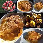 recette Crumble pommes-coings au cidre